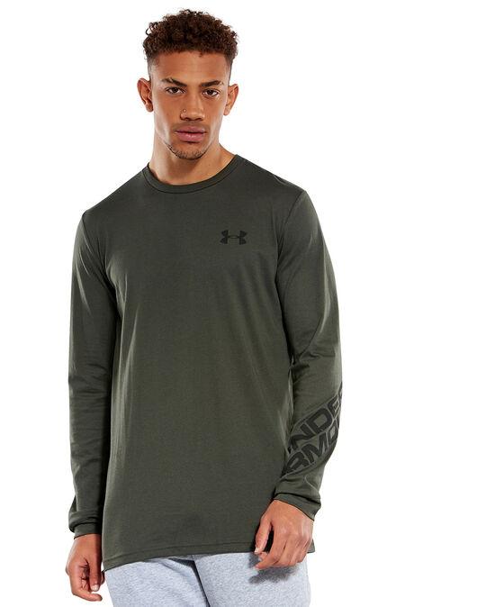 Mens Wordmark Long Sleeve T-Shirt