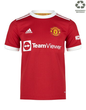 Kids Manchester United 21/22 Home Jersey
