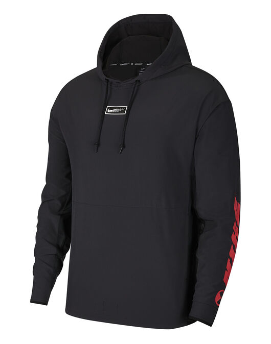 Mens Woven Pullover SC Hoodie