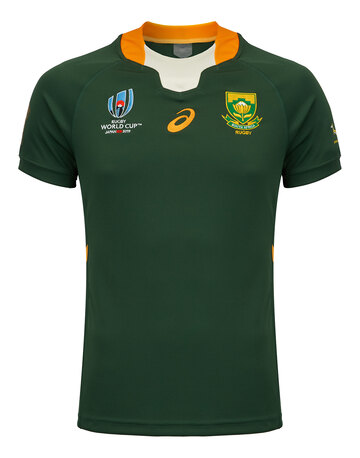 Adult Springboks Home RWC Jersey 2019