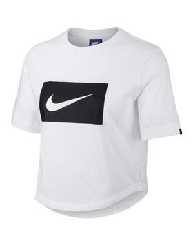 Womens Swoosh Crop T-Shirt