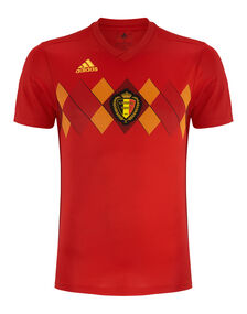 Adult Belgium WC18 Home Jersey