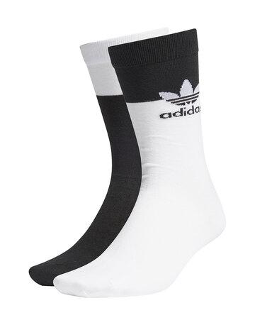 Block Thin 2 Pack Crew Socks