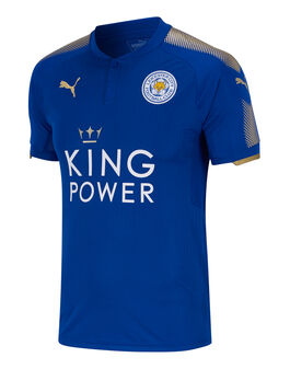 Adult Leicester Home 17/18 Jersey