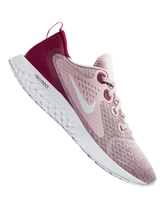 47c8cfd09cba Women s Pink   Red Nike Legend React