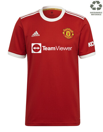 Adult Manchester United 21/22 Home Jersey