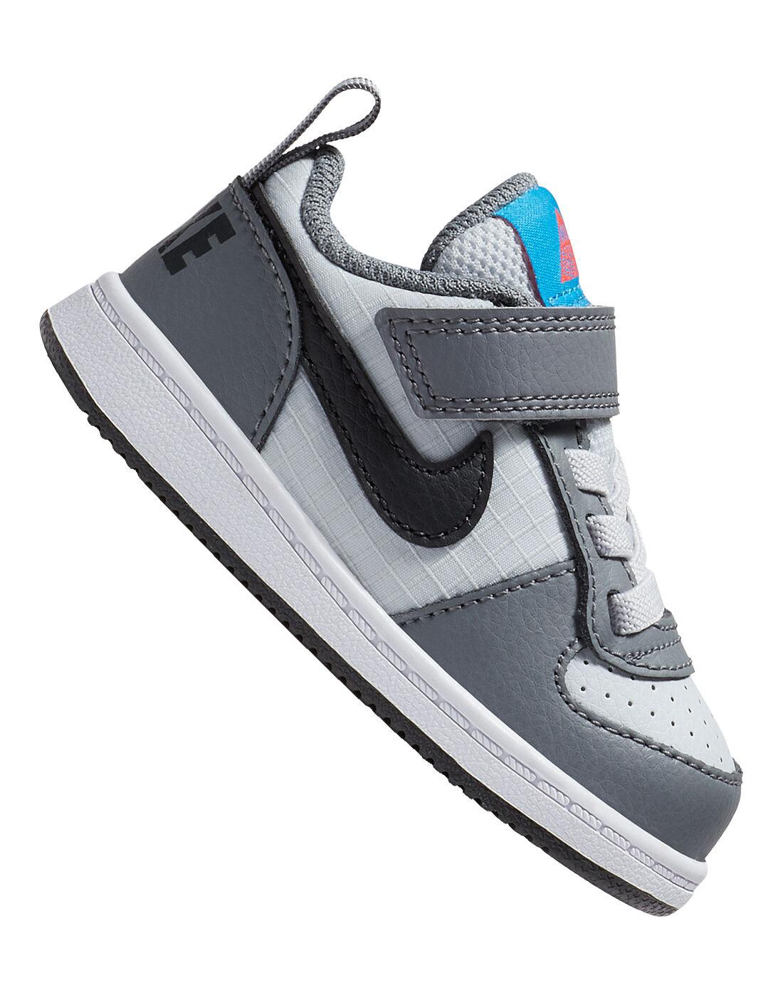 Grey Nike Court Borough Low