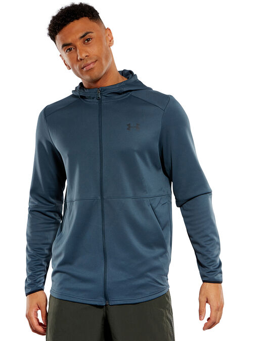 Under Armour Mens Mk1 Warmup Full Zip Hoodie by Under Armour