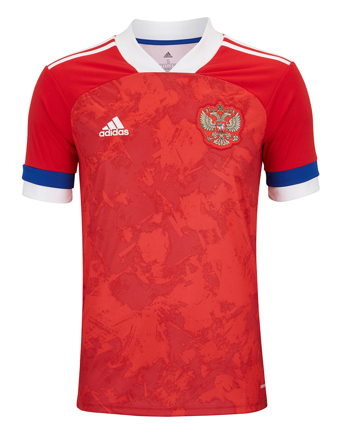 adidas Adult Russia Euro 2020 Home Jersey - Red   retro adidas i ...