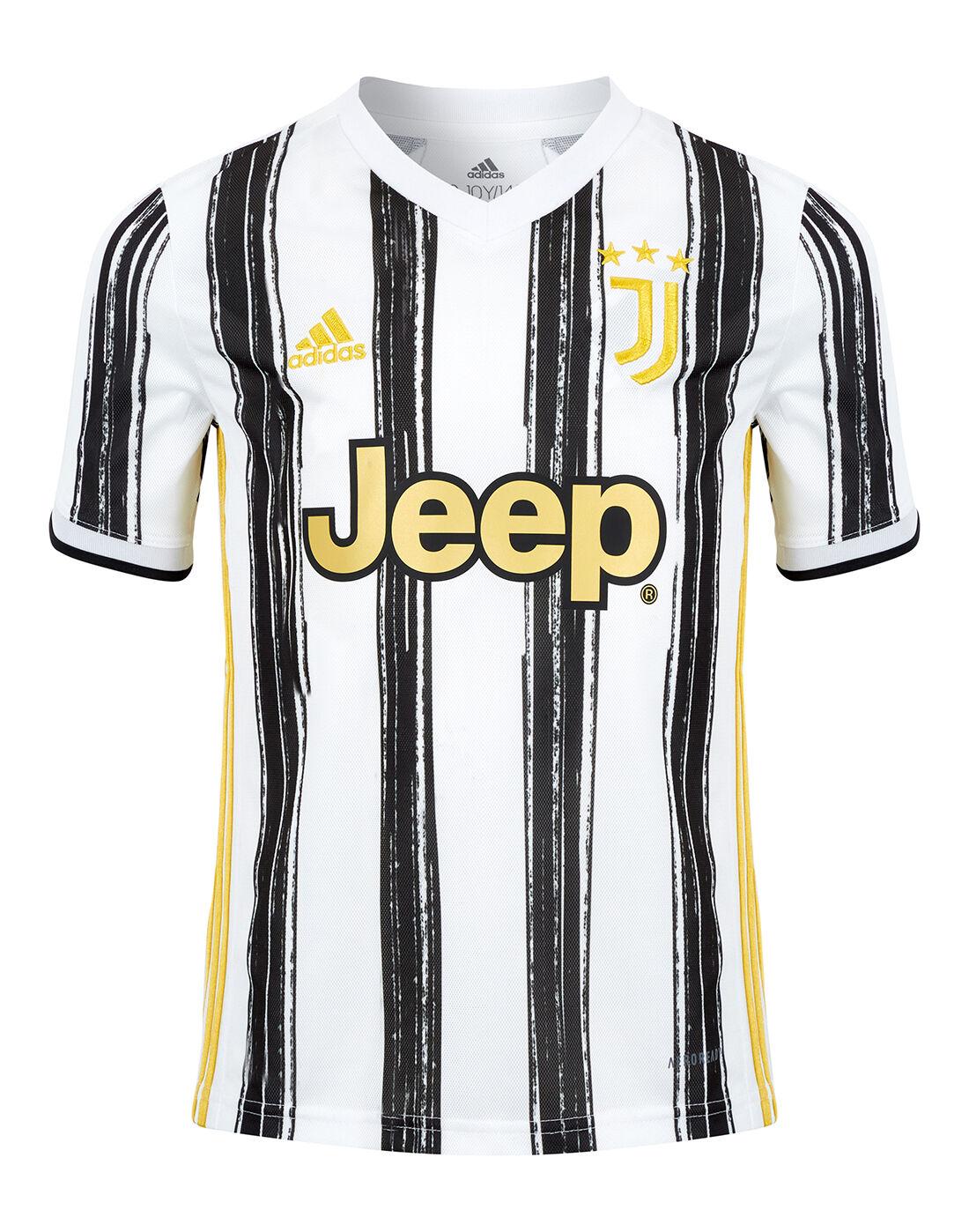 adidas Kids Juventus 20/21 Home Jersey - White | Life Style ...