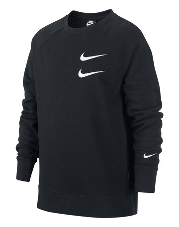 Older Boys Swoosh Crew Neck Sweatshirt
