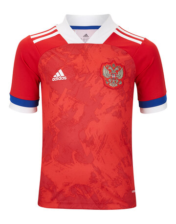 Kids Russia Euro 2020 Home Jersey