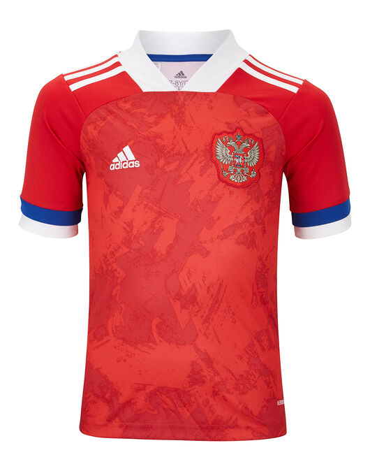 adidas Kids Russia Euro 2020 Home Jersey - Red | Life ...