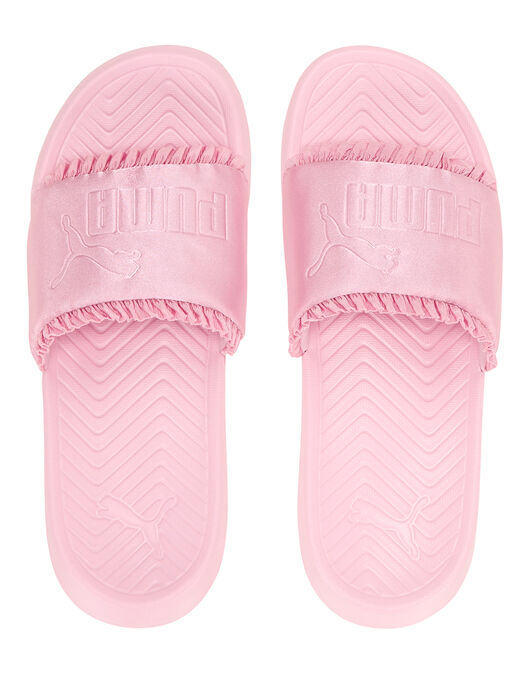 Womens Popcat Silk Slides
