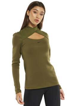Womens Warm Crossneck Top