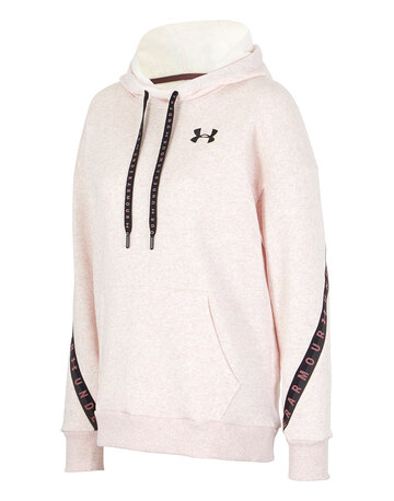 Womens Taped Fleece Hoodie