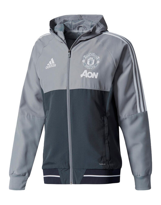 Adult Man Utd 17/18 Presentation Jacket