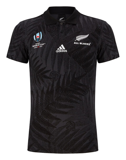 Adult All Blacks RWC Supp Home Jersey