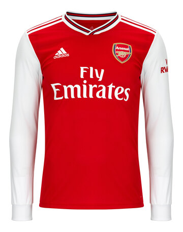 Adult Arsenal Home 19/20 Jersey LS