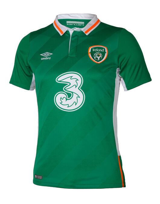 Kids Ireland Home Short Sleeve Jersey