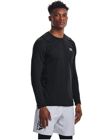Mens ColdGear Armour Fitted Crew Top