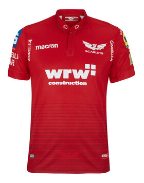 Adult Scarlets Saints Home Jersey