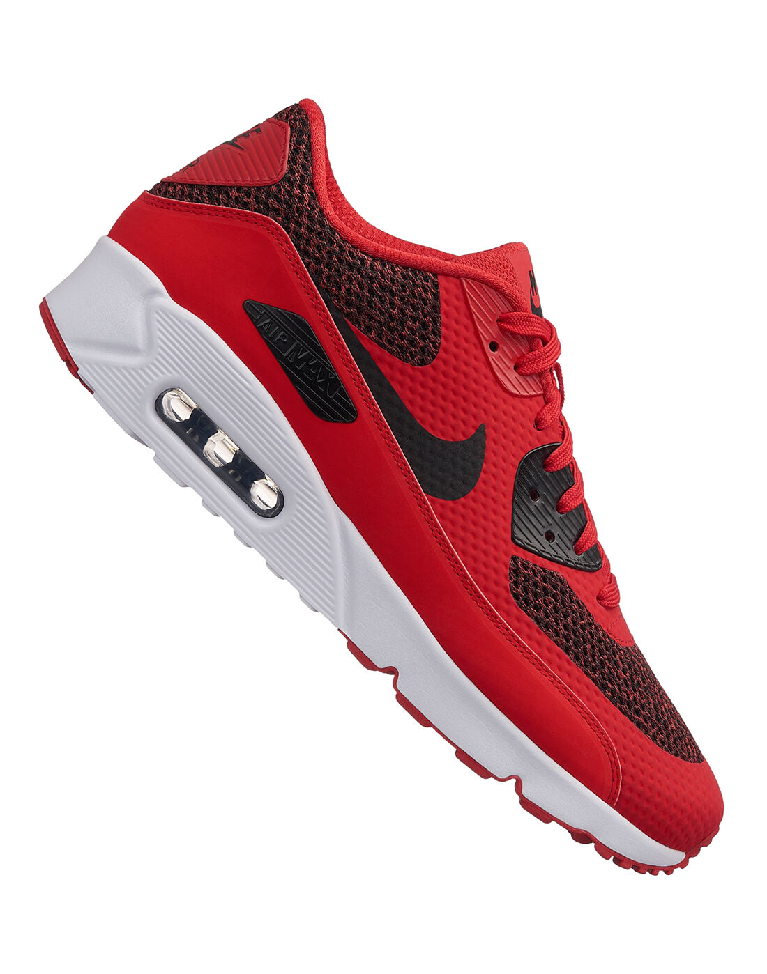 Men's Nike Air Max 90 Ultra 2.0   Red   Life Style Sports