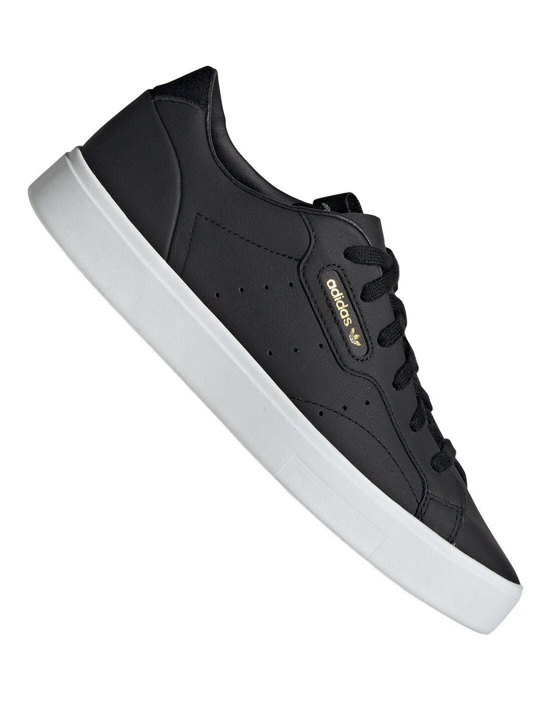 Black adidas Originals Sleek Trainers