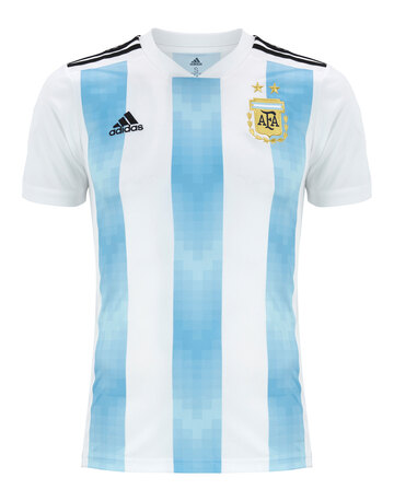 8a367368c Adult Argentina WC18 Home Jersey ...