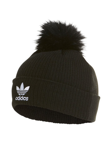 Trefoil Fur Bobble Hat