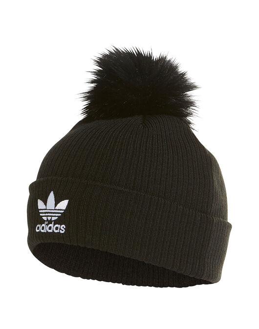 Trefoil Fur Bobble Hat