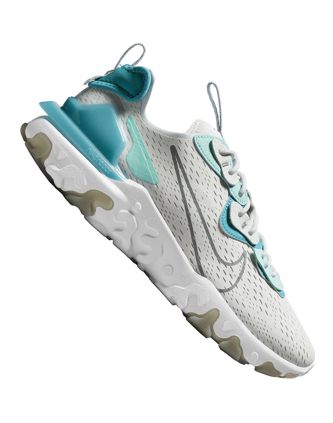 Nike Mens React Vision - Grey | texas elite adidas 17u prime team EU