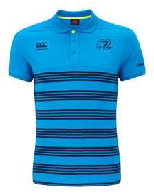 Mens Leinster Striped Polo