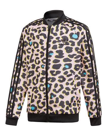 Older Girls Leopard Track Top