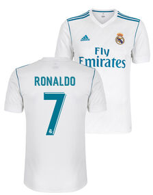 Adult Real Madrid Ronaldo Home Jersey