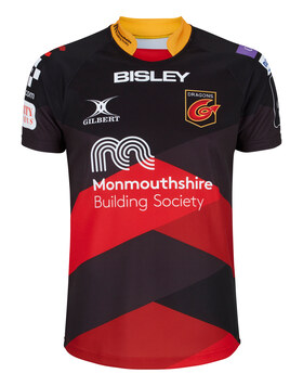 Adult New Port Gwent Dragons Home Jersey