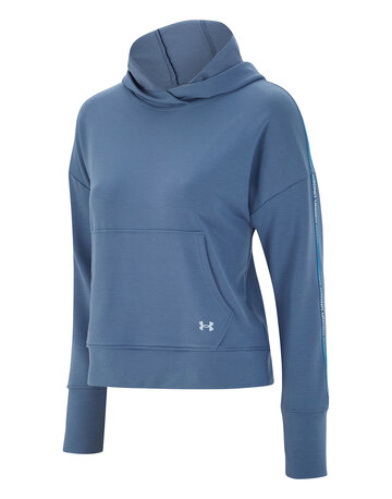 Womens Rival Terry Taped Hoodie