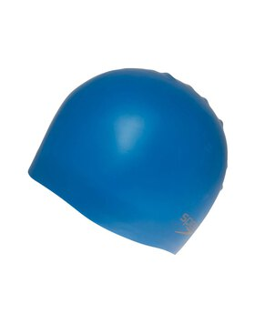 Plain Mould Silicone Junior Swim Cap