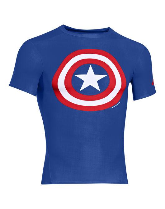 Mens Alter Ego Captain America SS