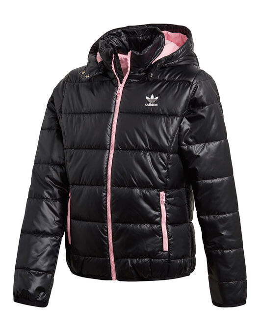 86536f996b39 Girl s Black adidas Originals Padded Jacket