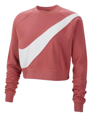 Womens Swoosh Fleece Crew Sweatshirt