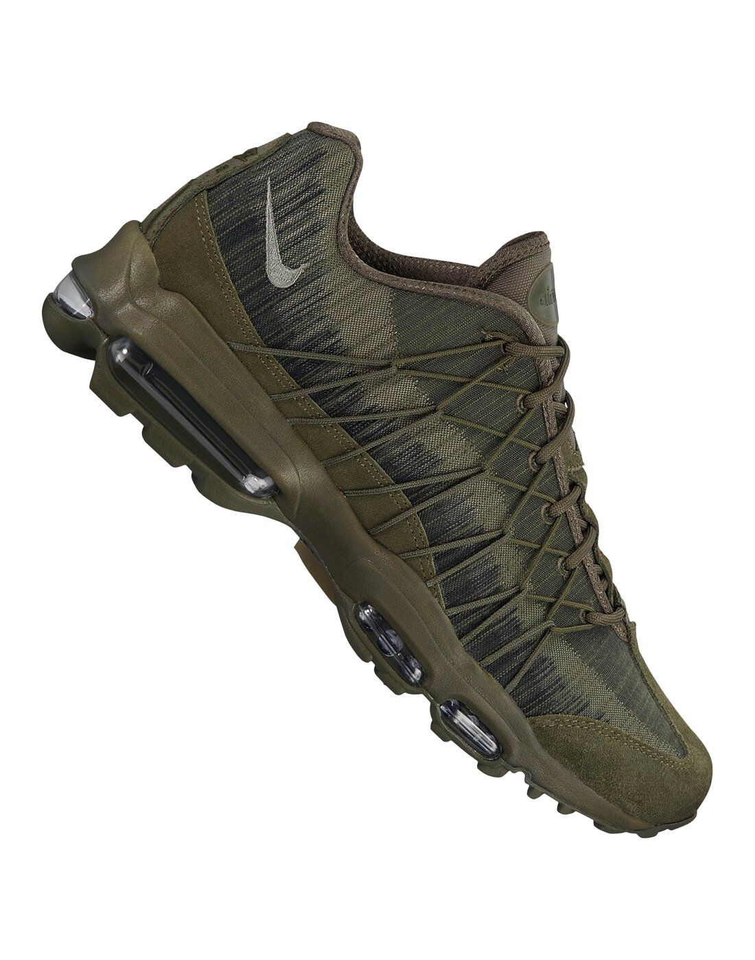 Men's Nike Air Max 95 Ultra | Green | Life Style Sports