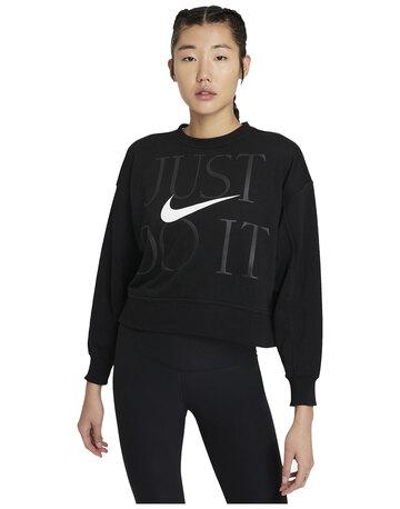 Womens Get Fit Crewneck Sweatshirt