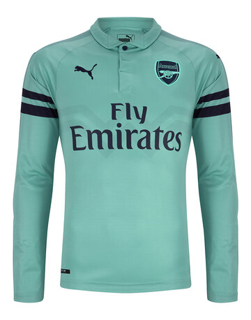 f8949346d43 Adult Arsenal Third 18 19 LS Jersey ...