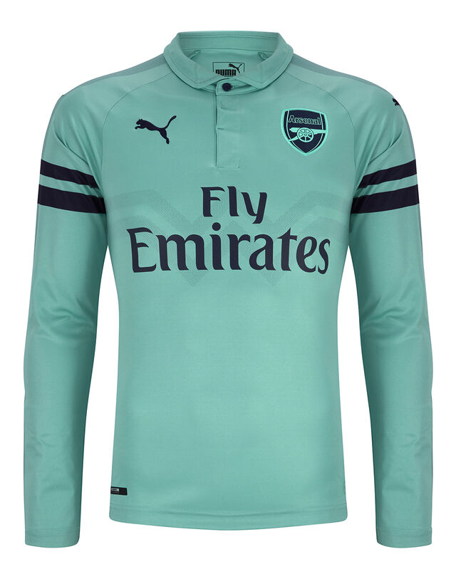 Image of Adult Arsenal Third 18/19 LS Jersey