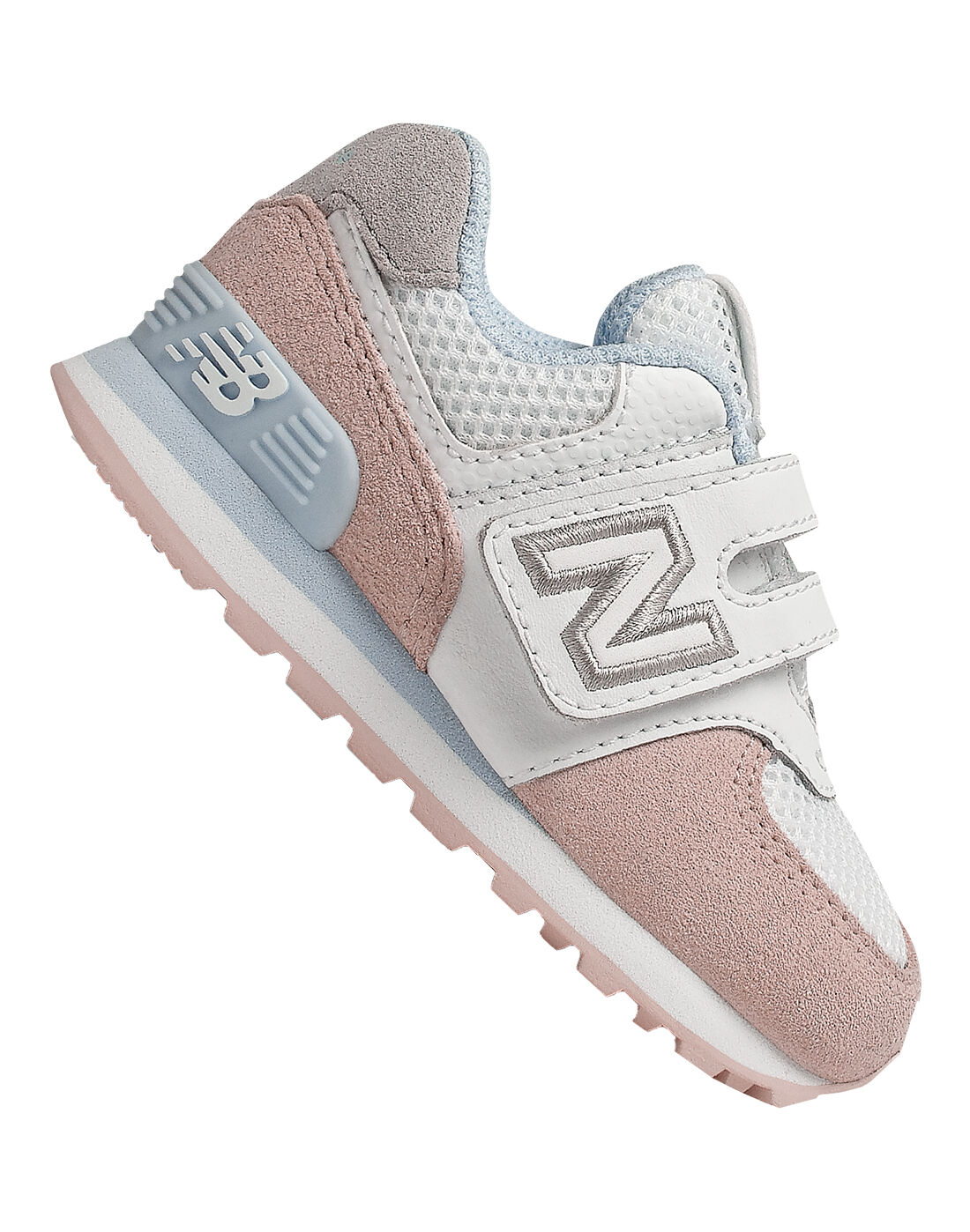 Infant Girls Pink New Balance 574 Trainers | Life Style Sports