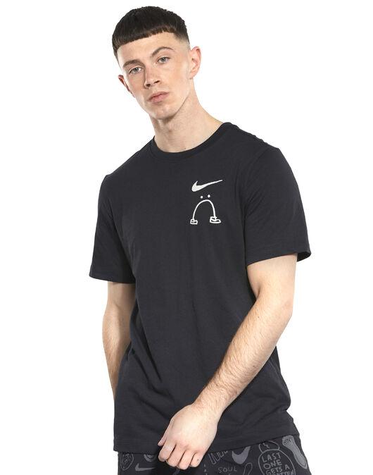 49abbdace0 Men s Black Nike Dry Artist Running T-Shirt