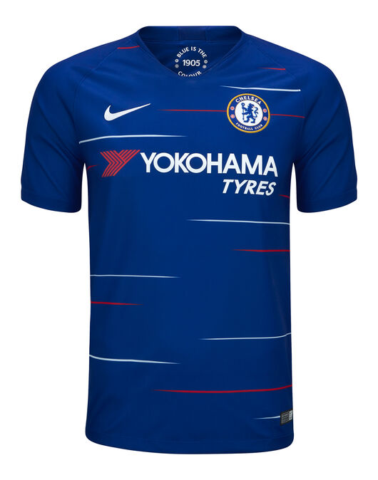 official photos f0c3e 44eb4 Nike Adult Chelsea Home 18/19 Jersey