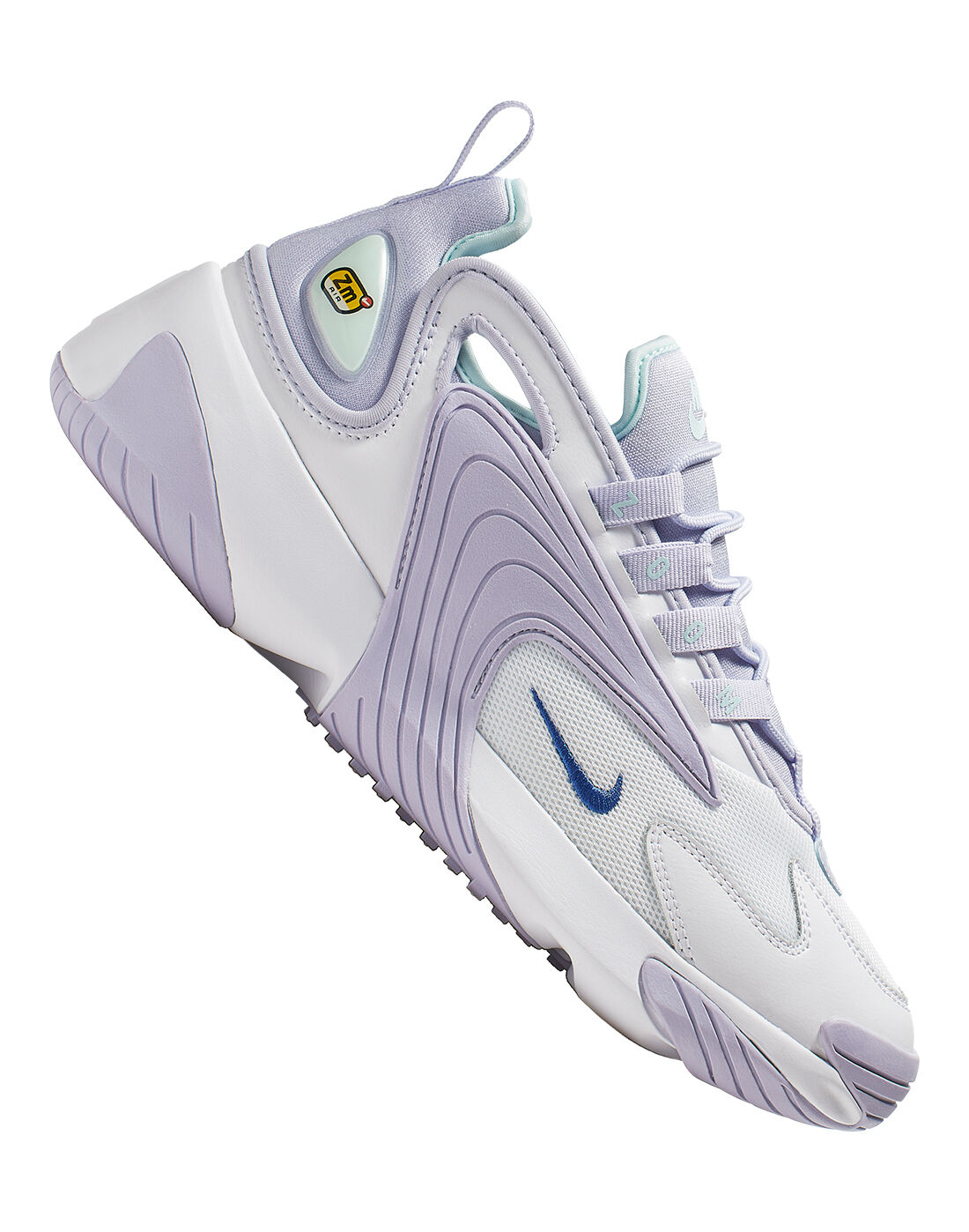 Women's White \u0026 Lavender Nike Zoom 2K