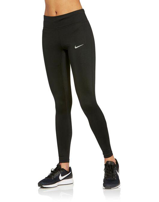 Toro folleto progresivo  Women's Nike Power Essential Tights   Black   Life Style Sports